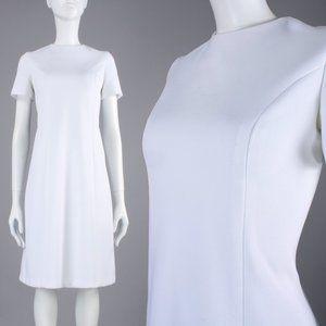 M Vintage 60s Mid Century MCM Space Age Dress